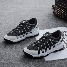 Giày thể thao nữ DOHA Shop SWG2569BW - Màu đen trắng