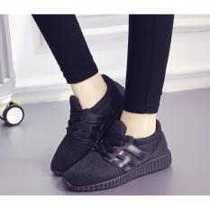 Bán Giay Thể Thao Nữ Sneaker Gtt06 Đen Rẻ