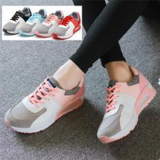 Bán Giay Thể Thao Nữ Sneakers Phong Cach Han Quốc Mau Hồng Rẻ