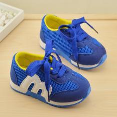 Hình ảnh Giày thể thao siêu nhẹ cho bé - Size 21 đến 30 - Số 3 Baby - blue