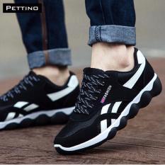 Giá Bán Giay Thể Thao Sneakers Cao Cấp Pettino Gt01 Trắng Đen Nguyên Pettino