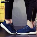 Bán Giay Thể Thao Sneakers Nam Nữ Cao Cấp Pettino P002 Xanh Có Thương Hiệu Nguyên
