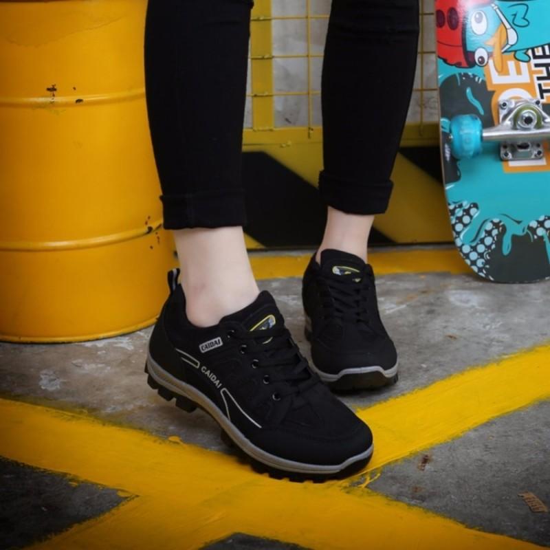 Giày Thể Thao sneakers nữ S1057 (Đen) êm chân, phù hợp đi bộ, đi chơi - SHOPMAIKA