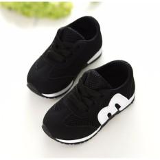 Hình ảnh Giày thể thao trẻ em RS009 (Đen)