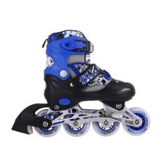 Mua Giày trượt patin Longfeng 906 màu xanh +Tặng kèm bảo vệ trượt patin màu xanh