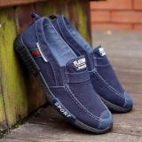 Cửa Hàng Bán Giầy Vải Sneaker Thể Thao Nam Xanh Biển