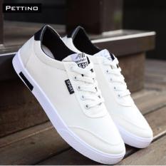 Hình ảnh Giày Vải Sneakers - Pettino GV01 (trắng)