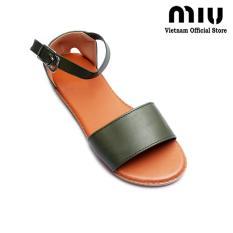 Giày Xăng Đan Nữ Miu Gd160 Xanh Reu Miu Rẻ Trong Vietnam