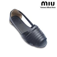 Giày Xăng Đan Nữ Miu S23 Đen Miu Chiết Khấu