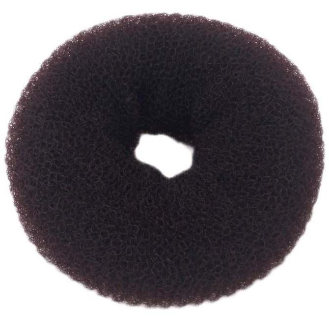 Hang-Qiao Hair Bun Maker Donut Updo Headwear Hair Styling Tool (Coffee) -