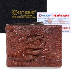 Bán Hl2233 Bop Nam Huy Hoang Da Ca Sấu Gu Chan Mau Nau Đỏ Huy Hoang Có Thương Hiệu