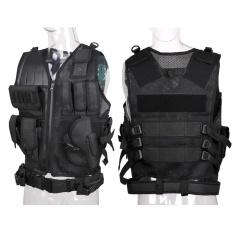 Hình ảnh Hot Tactical Vest Army Paintball Aisoft Adjustable Combat Assault Rig Top CS/CF - intl