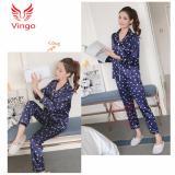 Giá Bán Kem Video Đồ Ngủ Nữ Đồ Mặc Nha Đẹp Đồ Bộ Pijama Họa Tiết Trai Tim Trắng Lịch Sự Cho Ngay Trở Lạnh Vingo Việt Nam Hà Nội