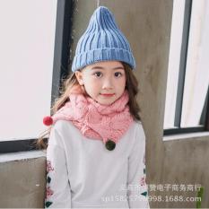 Khăn ống len kiểu chéo mới đáng yêu cho bé