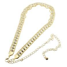 Giá Bán Ladies Fashion Waist Chain Women Charm Belt Alloy Rhinestone Diamante Diamond Gold Intl Mới Rẻ