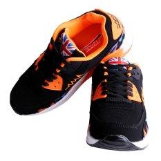 Giá Bán Kiểu Nữ Giay Thể Thao Sneaker Thoang Mat Cho Ngoai Trời Đi Bộ Giay Chạy Bộ Mau Cam Intl Lalang Tốt Nhất