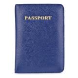 Bán Mẫu Bao Cổ Vuong Da Hộ Chiếu Passport Cover Xanh Dương Quốc Tế Trung Quốc