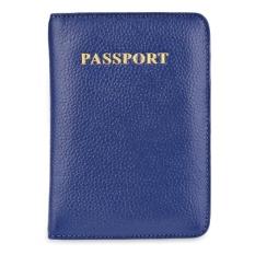 Mẫu Bao Cổ Vuong Da Hộ Chiếu Passport Cover Xanh Dương Quốc Tế Trung Quốc