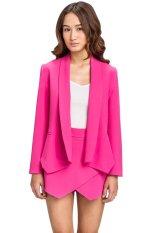 Bán Mua Lzd Straight Lapel Blazer Pink Vietnam