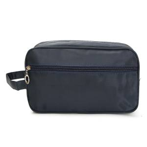 Hình ảnh Men Travel Waterproof Toiletry Bag Wash Shower Makeup Organizer Portable Case - intl