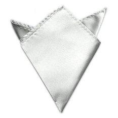 Hình ảnh Mens Fashion Satin Silk Wedding Party Hanky Pocket Square Handkerchief - intl