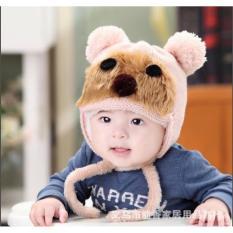 Hình ảnh Mũ Chụp Hình Gấu Cho Bé