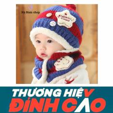 Mũ len và khăn vòng cổ cho bé Hà Nam shop 05