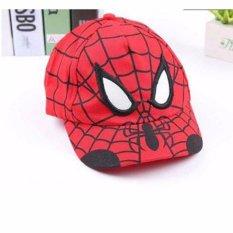 Mũ lưỡi trai hình siêu nhân người nhện Spider man cho bé Nhật Bản