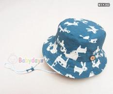 Giá bán Mũ nón rộng vành cho bé MXK060