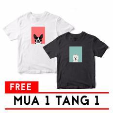 Mua 1 Tặng 1 Ao Thun Unisex In Hinh Pet Lover 7 Suvi Chiết Khấu