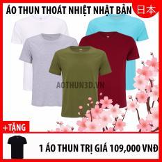 Mua 5 Tặng 1 Ao Thun Khong Cổ Nam Ao Thun Nam Phong Cach Trắng Xam Reu Đỏ Đo Xanh Ngọc Tặng Đen Mới Nhất