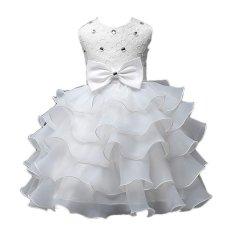 Giá Bán Mới Sundress Mong Tay Đinh Hạt Be Gai Đầm Cưới Đầm Dự Tiệc Mau Trắng Quốc Tế Rẻ Nhất