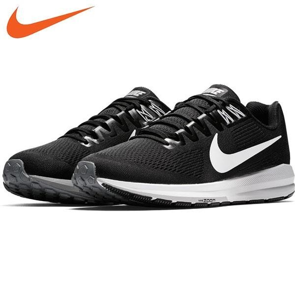 [Premier] Nike - Giày thể thao nam 904695-001 AIR ZOOM STRUCTURE 21 ( Đen )