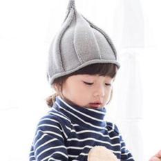 Nón trẻ em chất liệu len Flancoo 8751 (Xám)