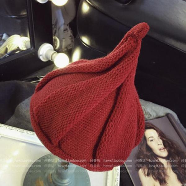 Nón trẻ em chất liệu len Flancoo 8755 (Đỏ đậm)
