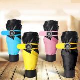 Mua O Che Mưa Nắng Gấp Sieu Nhẹ 195Gam Nhỏ Gọn Thiết Kế Thời Trang Mini Pocket Umbrella Mau Đen Rẻ Trong Hà Nội