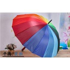 Giá bán Ô dù đi nắng mưa 7 màu loại lớn tự bật