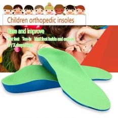 Hình ảnh Orthotic Chân Dẹt Chân Vòm Đệm Support Chân cho Miếng Lót Miếng Lót dành cho Trẻ Em (21 cm) -quốc tế