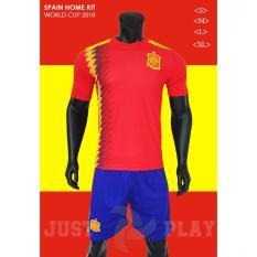 Bán Quần Ao Đa Banh Đội Tuyển Tay Ban Nha Đỏ World Cup 2018 Trực Tuyến