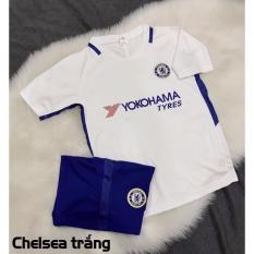 Hình ảnh Quần áo đá banh trẻ em clb Chelsea trắng