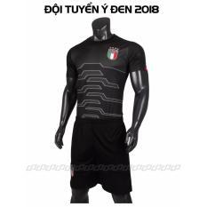 Mã Khuyến Mại Quần Ao Đa Bong Đội Tuyển Ý Đen 2017 2018 Cp