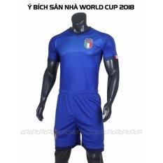 Quần Ao Đa Bong Đội Tuyển Ý Xanh 2017 2018 Hồ Chí Minh
