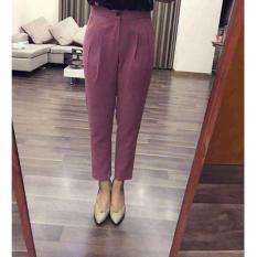 Quần Baggy nữ siêu đẹp màu Hồng