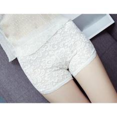 Quần đùi mặc trong váy sexy toàn ren  (trắng)