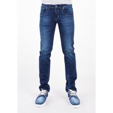 Ôn Tập Quần Jeans Nam Skinny A91 Jeans Wash Sang 002 Xanh Denim Mới Nhất