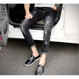 Ôn Tập Quàn Jeans Nam Va Rach Chát Bò Đẹp Zavans Đen Zavans