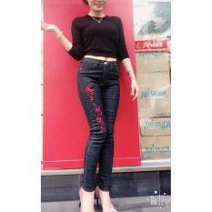 Ôn Tập Quần Jeans Nữ Theu Lưng Cao Co Dan Tốt Đẹp Store 257 Việt Nam