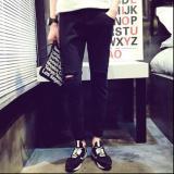 Cửa Hàng Quần Jeans Rach Gối Nam Mau Đen Rẻ Nhất