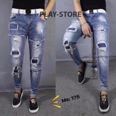 Giá Bán Quần Jeans Rach Nam Trẻ Trung 175 Lylyfashion Nhãn Hiệu Arc
