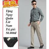 Quần Kaki Nam Trung Nien Lb Fashion Lazada Tặng Quần Lot Nam Ngẫu Nhien Kem Trắng Thời Trang Giá Gốc Chiết Khấu
